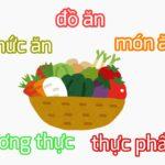 vol.480 「食材、食べ物、料理」を表す単語のいろいろ